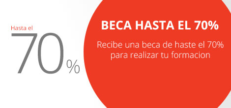 Promocion Beca 70%